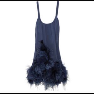 Foley + Corinna mini feather dress